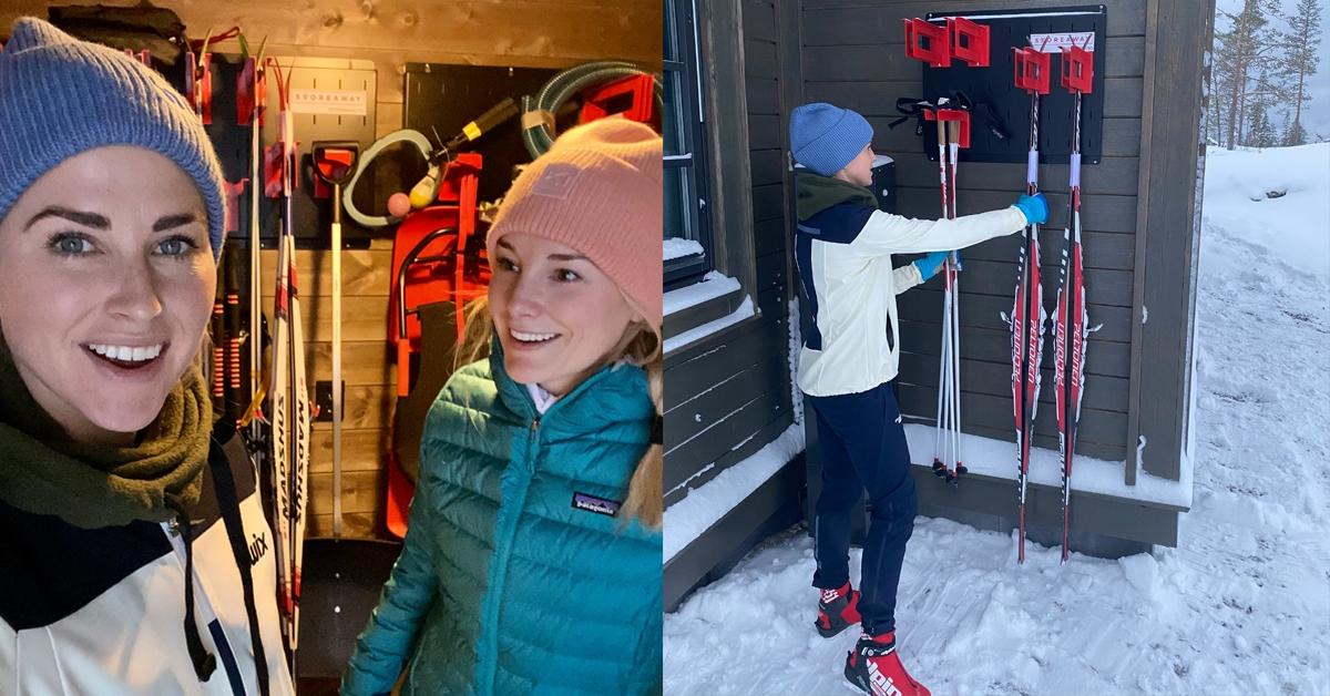 Farmen-vinner valgte Store Away til oppheng av ski